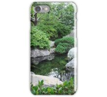 Koi Pond, Balboa Park iPhone Case/Skin