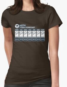 Hoth - 7 Day Forecast T-Shirt