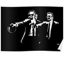 The Big Lebowski Pulp Fiction Poster