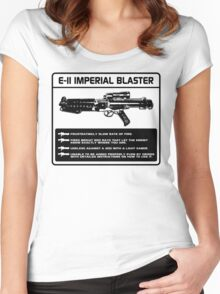 E-11 Imperial Blaster Women's Fitted Scoop T-Shirt