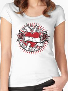 Klingon Tattoo Women's Fitted Scoop T-Shirt