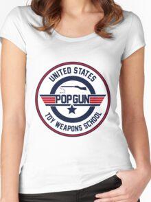 Popgun Women's Fitted Scoop T-Shirt