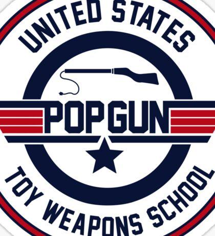 Popgun Sticker