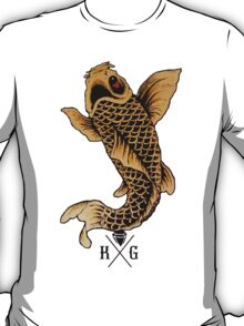 King Gizmo Koi {White} T-Shirt