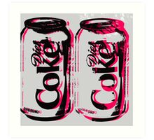 Diet Coke Can Art Print