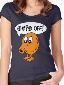 Q-Bert - @#?@ Off! Women's Fitted Scoop T-Shirt