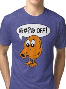 Q-Bert - @#?@ Off! Tri-blend T-Shirt