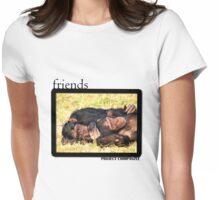 Chimpanzee Friends Womens Fitted T-Shirt