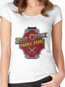 Shit Creek Paddle Store Women's Fitted Scoop T-Shirt