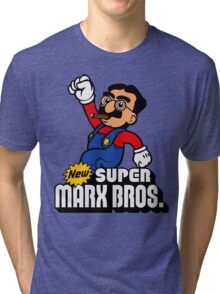 Super Marx Bros. Tri-blend T-Shirt