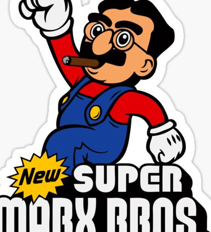 Super Marx Bros. Sticker