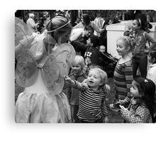 Children and Fairy Canvas Print