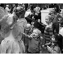 Children and Fairy Photographic Print