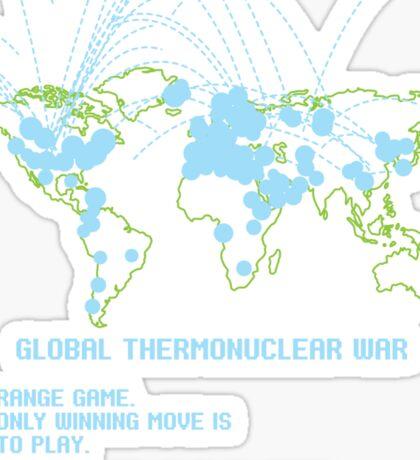 Thermonuclear War Sticker