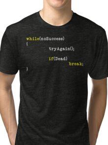 Try Again Tri-blend T-Shirt