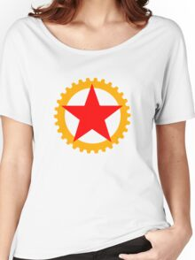 Star and cog Women's Relaxed Fit T-Shirt