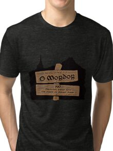 Welcome To Mordor Tri-blend T-Shirt