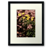 Endgraving Forest 2 Framed Print
