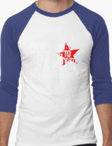 From each according to their ability... Men's Baseball ¾ T-Shirt
