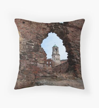 The view from the depth of centuries Throw Pillow
