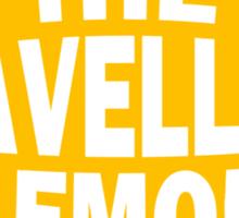 The Travelling Lemon Sticker