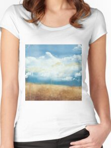 Cloud Beach Women's Fitted Scoop T-Shirt
