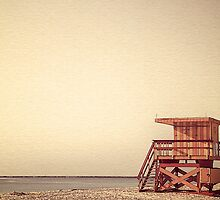 Beach Lifeguard Hut by fernblacker