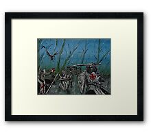 """""""The knights""""  Framed Print"""