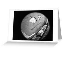 You're My Wonder (Graffiti) Wall - Lomo Greeting Card
