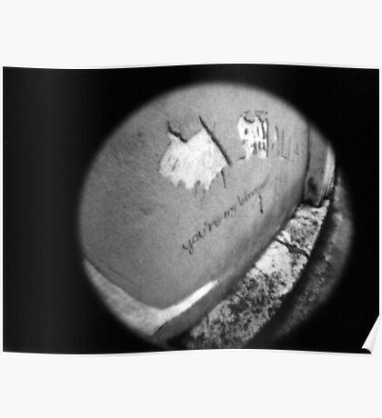 You're My Wonder (Graffiti) Wall - Lomo Poster