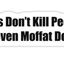 Steven Moffat Does Sticker