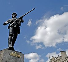 Gloucestershire regiment Boer war memorial, Bristol, UK by buttonpresser