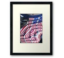Happy Fourth of July Framed Print