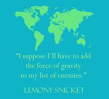 gravitational enemies by chaitali
