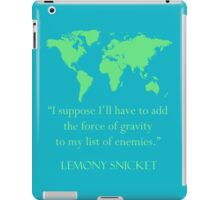 gravitational enemies iPad Case/Skin