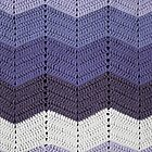 Purple Crocheted Afghan Blanket by GreenSpeed