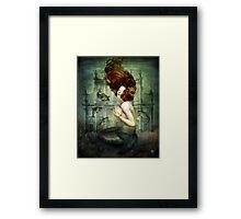 The Mermaid´s Pearl Framed Print