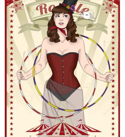 Roselle the hoop dancer Sticker