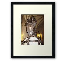 The great Lion of Hamburg Framed Print