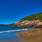 USA. Maine. Acadia National Park. Sandy Beach. by vadim19