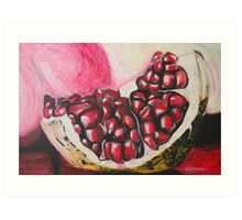 Sweet pomegranate Art Print