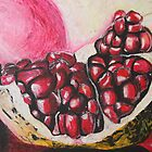 Sweet pomegranate by Michael Amos