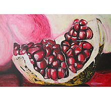 Sweet pomegranate Photographic Print