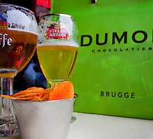 Belgium Equals Beer and Chocolate by Ren Provo
