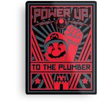 Plumber Propaganda Metal Print