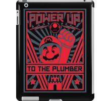 Plumber Propaganda iPad Case/Skin