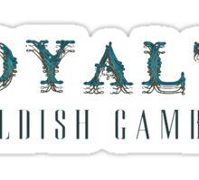 Royalty Sticker