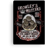 Muffins ♥ Canvas Print