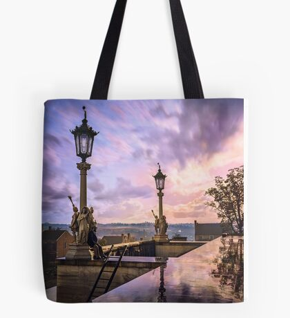 View from Capitol in Nashville, Tennessee, during the Civil War 1864 Tote Bag