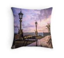 View from Capitol in Nashville, Tennessee, during the Civil War 1864 Throw Pillow